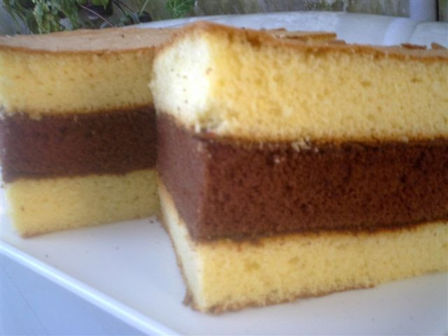 Resep Cake Kukus Pakai Santan: Resep Dapur Cakestation: Lapis Surabaya Dengan Sponge Cake