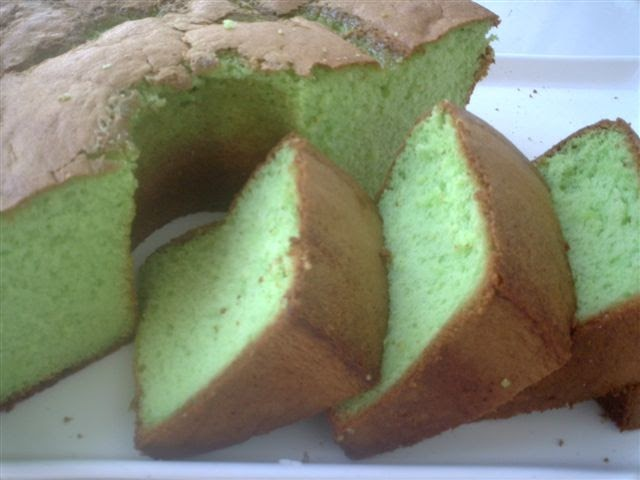 Resep Sponge Cake Jepang: Resep Dapur Cakestation: Sponge Cake Pandan
