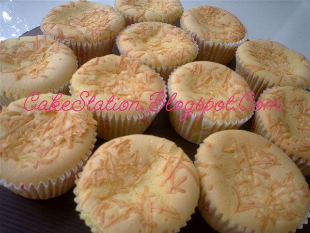 Resep Cake Keju Jepang: Resep Dapur Cakestation: Cup Cake Keju