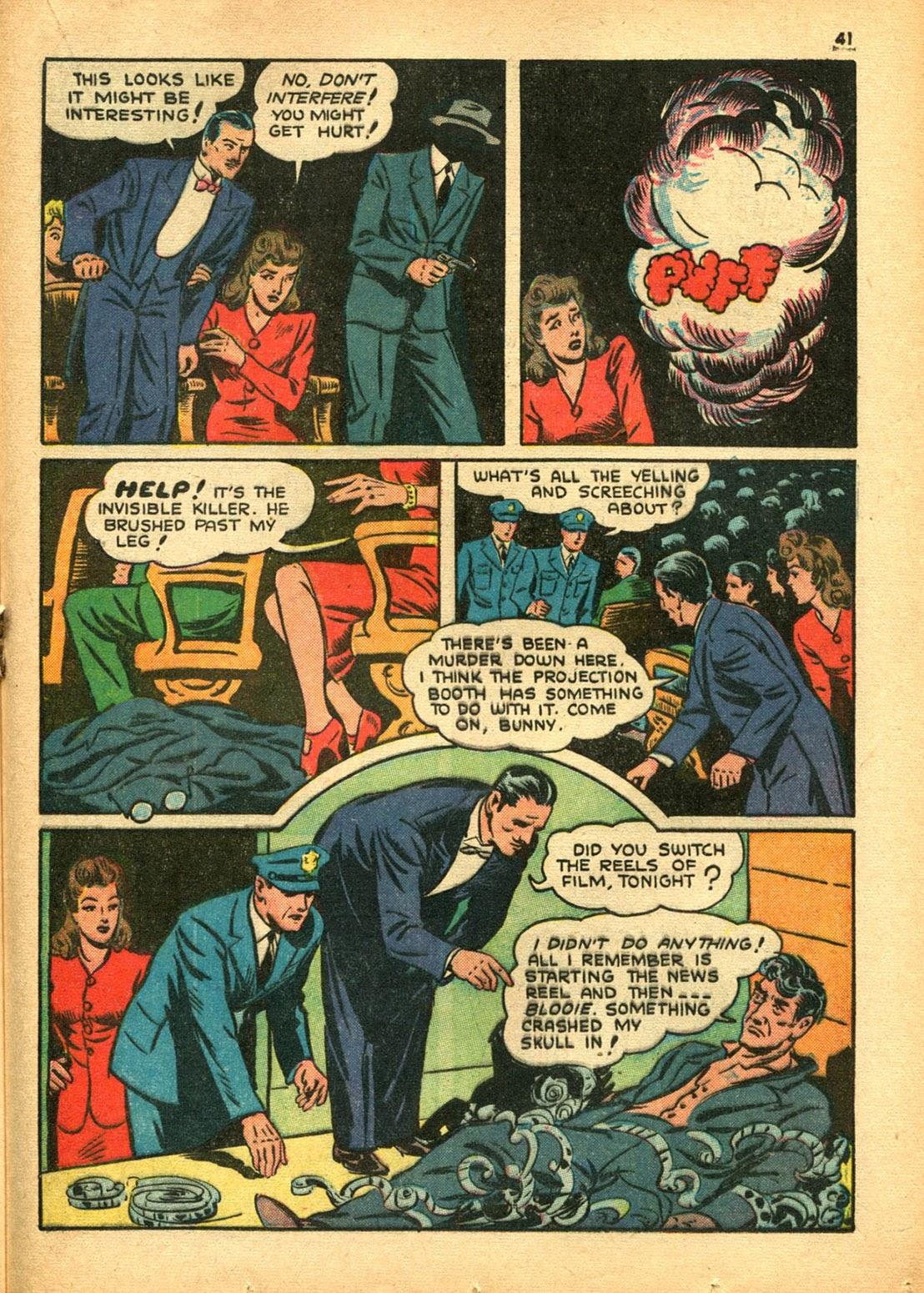 Read online Super-Magician Comics comic -  Issue #15 - 40