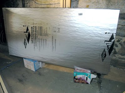 Dover Projects: Insulate an Attic Door