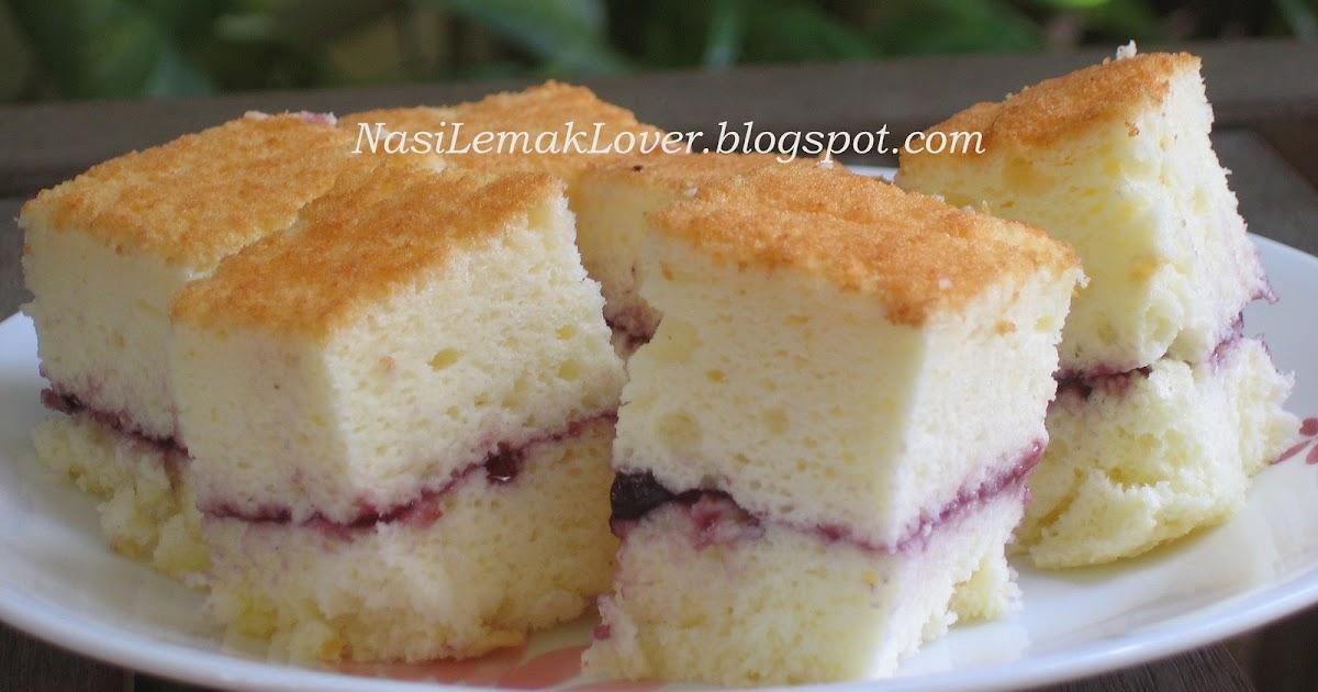Half Sponge Cake Decorated