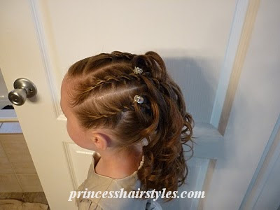 special occasion hairdo
