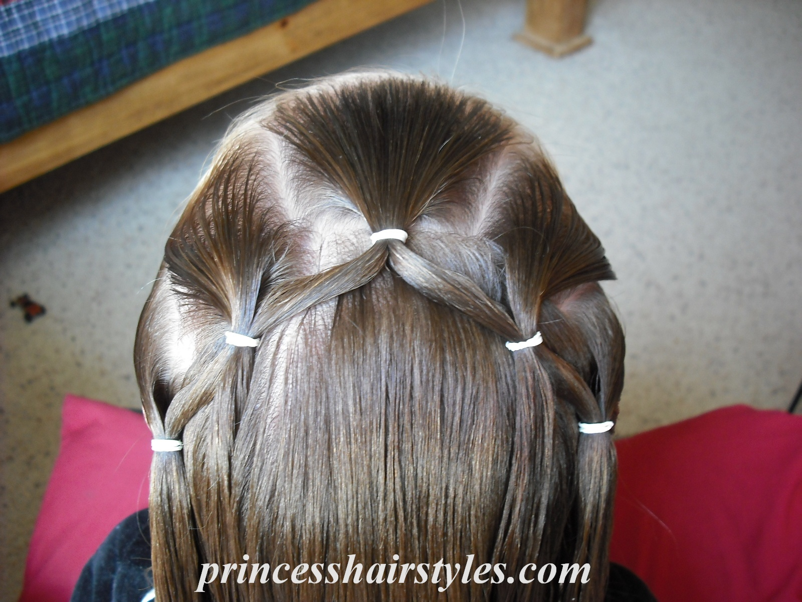 Groovy Flower Girl Hairstyle Hairstyles For Girls Princess Hairstyles Short Hairstyles Gunalazisus