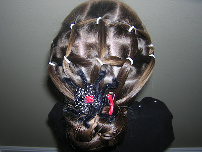Spider Web Hairstyles Hairstyles For Girls Princess