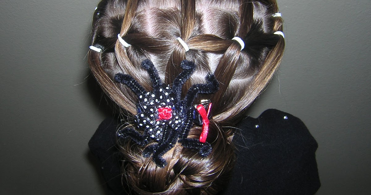 Spider Web Hairstyles Hairstyles For Girls Princess Hairstyles