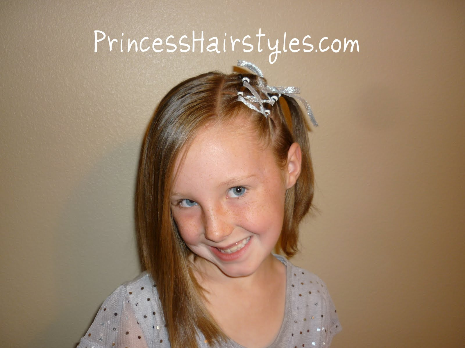 Ribbon Lacing For Short Hair Hairstyles For Girls Princess