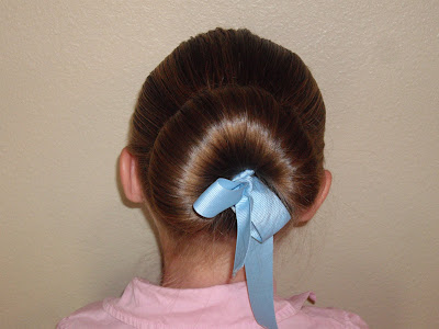 Disney Princess Halloween hairstyle