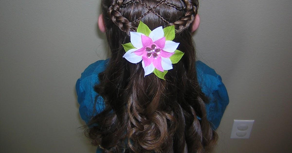 Renaissance Braids Criss Cross Headband Hairstyles For