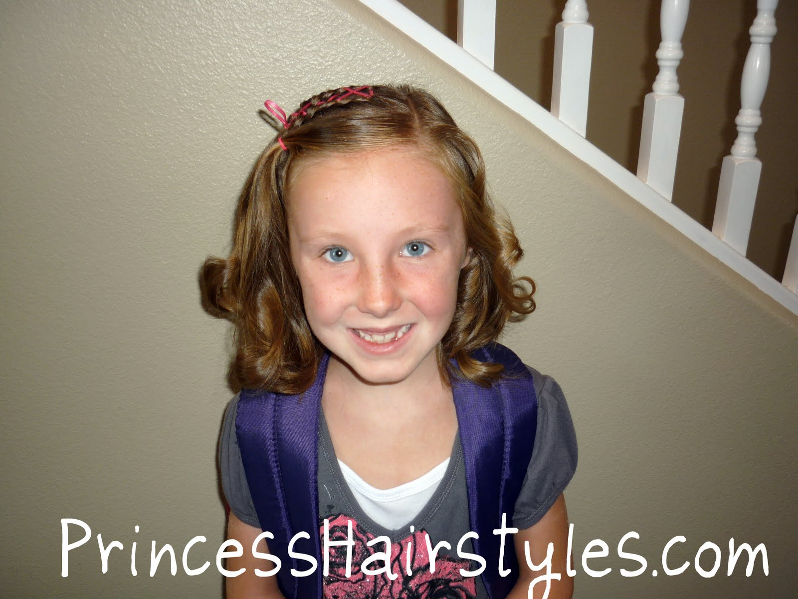 Day Hairstyles For Long Hair: Picture Day Hairstyle