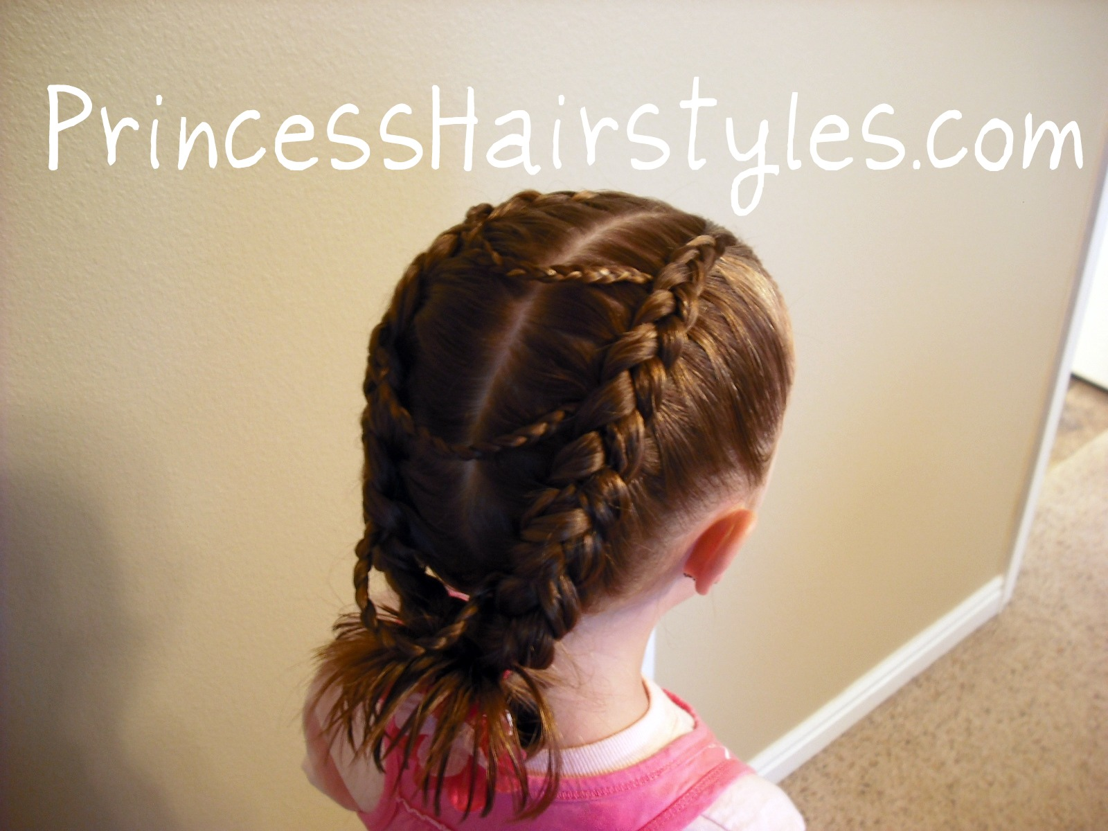 Fancy Princess Braids Hairstyles For Girls Princess