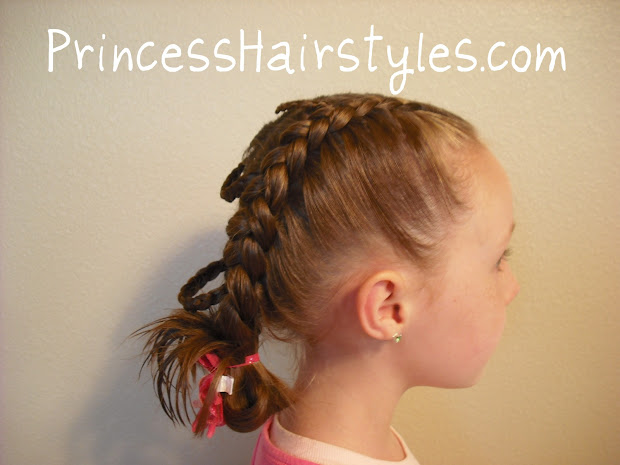 fancy princess braids - hairstyles
