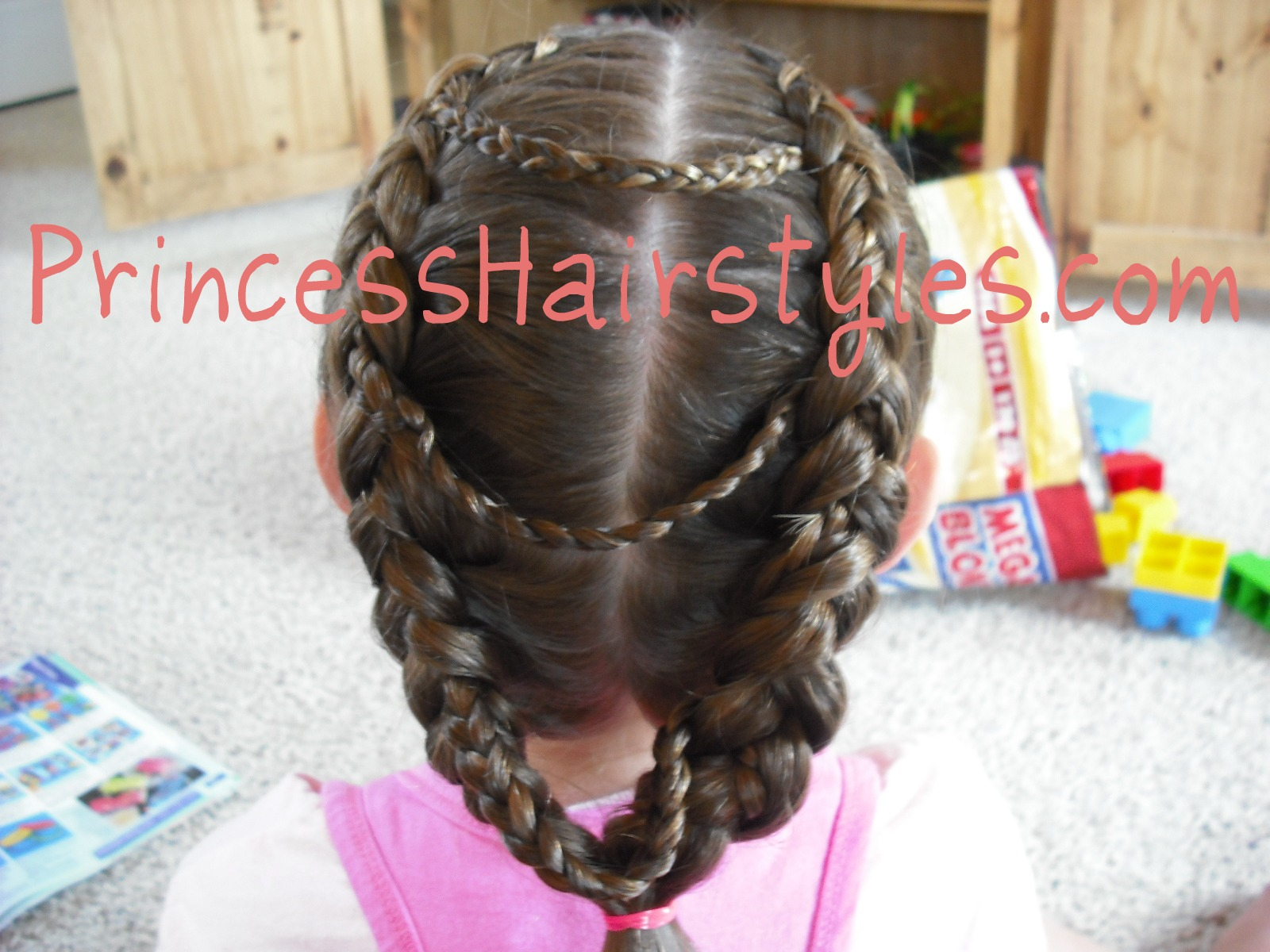 Hairstyles For Girls Fancy Princess Braids