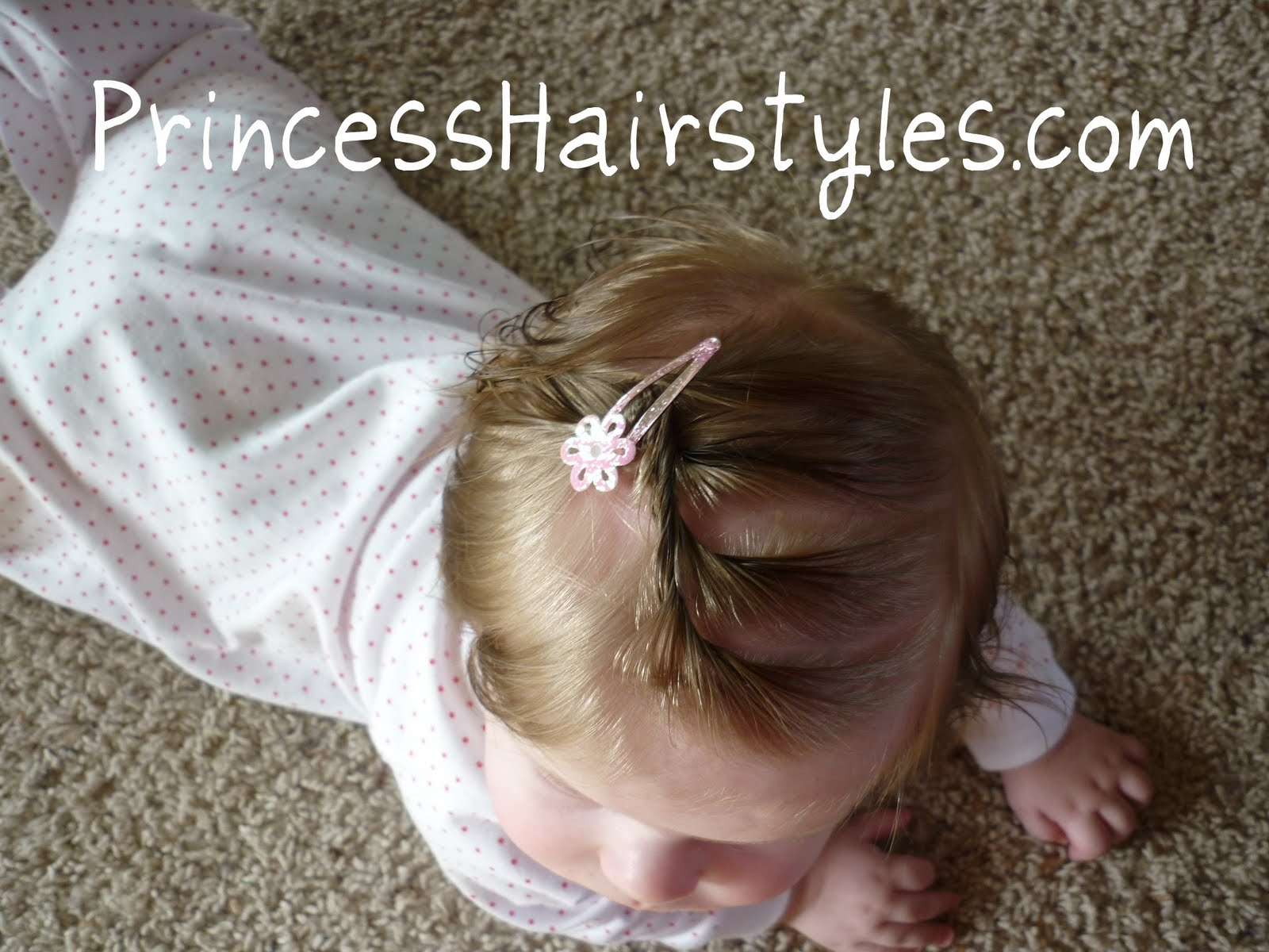 Hair Style For Baby Girl With Short Hair