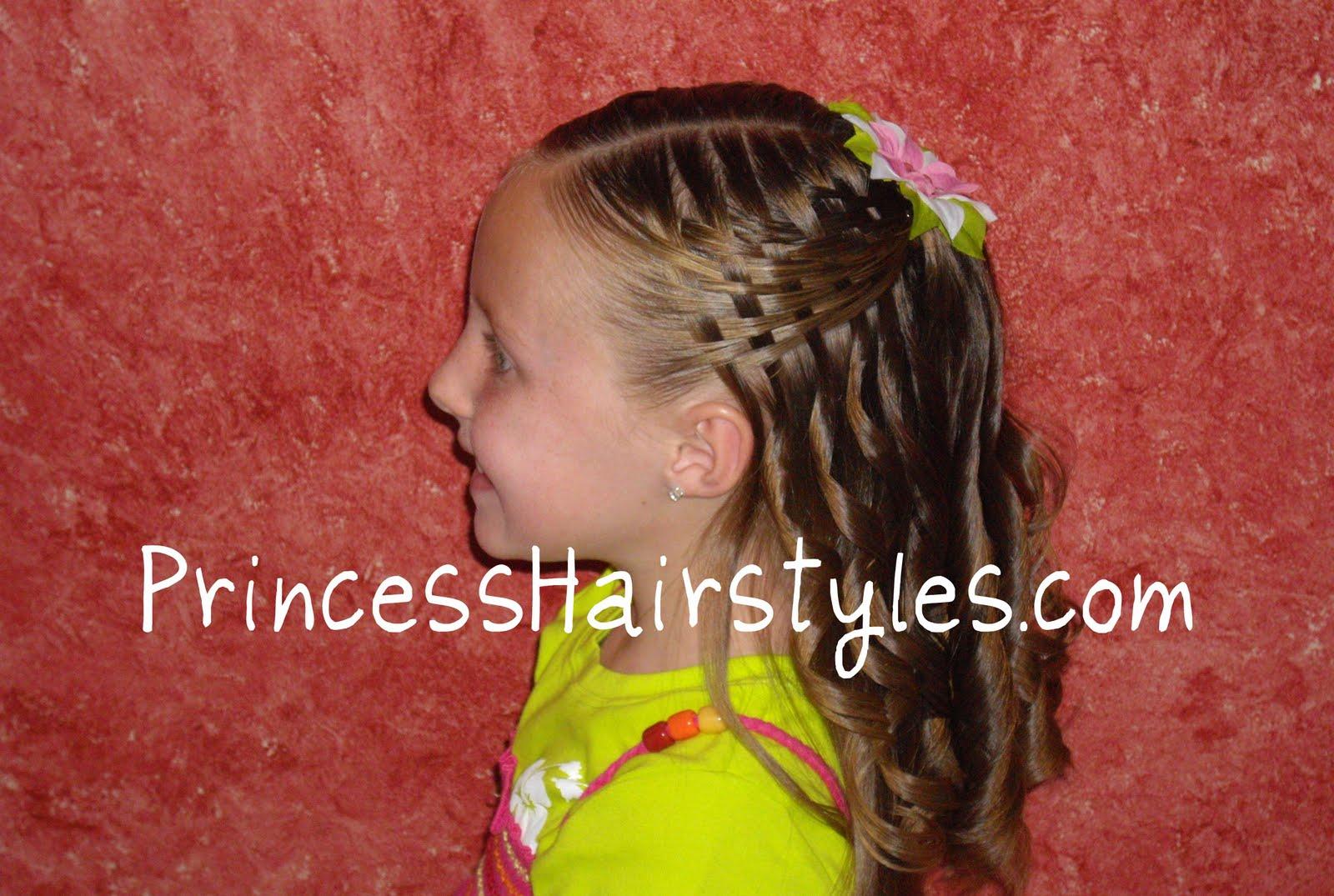 Pleasant Hairstyles Little Girls Videos Short Hairstyles Gunalazisus