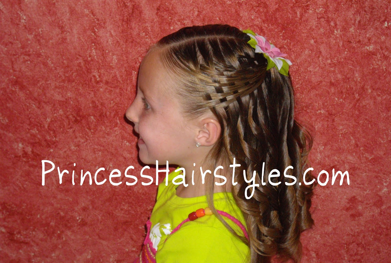Hairstyles For Girls Princess Hairstyles Basket Weave Hairstyle Video