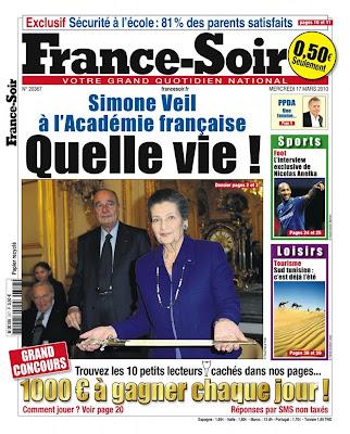 El nuevo France Soir (Vía Paper Papers)