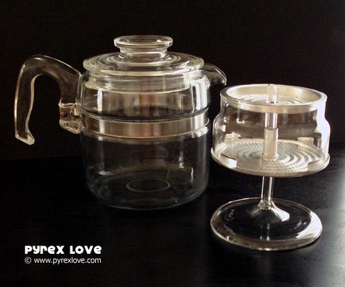Damn Yak Dry Goods Co Pyrex Coffee Percolator