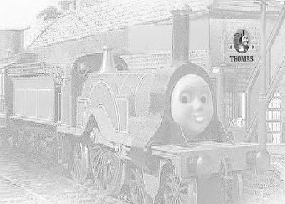 January 2010 train thomas the tank engine friends free for Emily the tank engine coloring pages