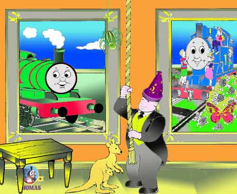 Play trainline free spot the difference games online with Percy and