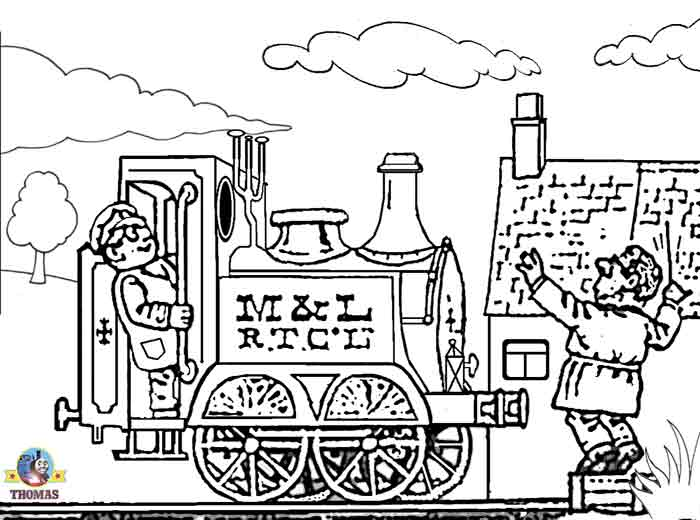 Trains steam engine coloring page flickr photo sharing for Steam engine coloring pages