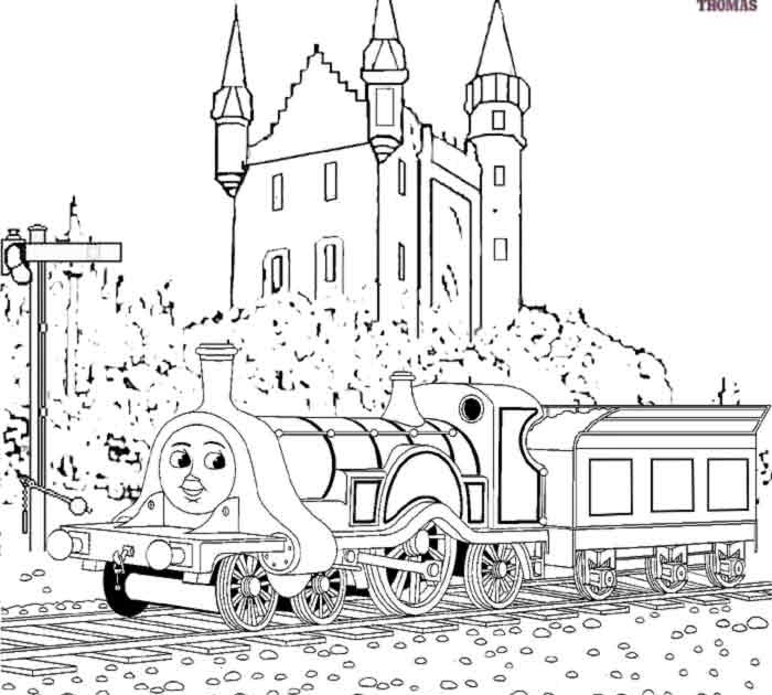 Thomas The Train And Friends Coloring Pages Online Free