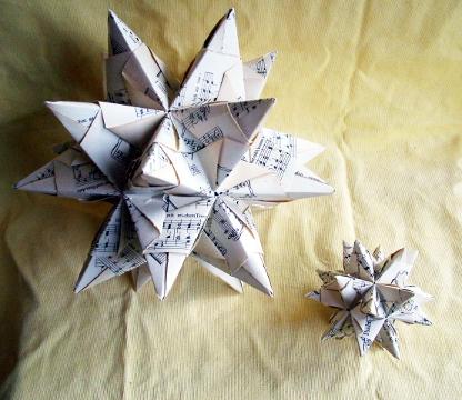 sterne falten papier