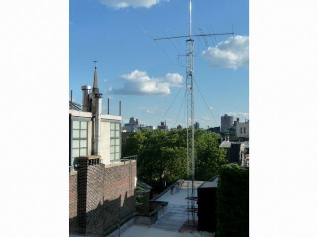 Ham Radio Operator Irking Neighbors With 30 Foot Antenna On East 11th Street