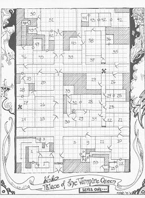 Palace Map D&d : palace, Strange, Magic:, Weekend, Edition:, Palace, Vampire, Queen