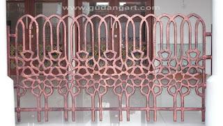 Cor+Logam+Aluminium+Railing+Masjid+Raya