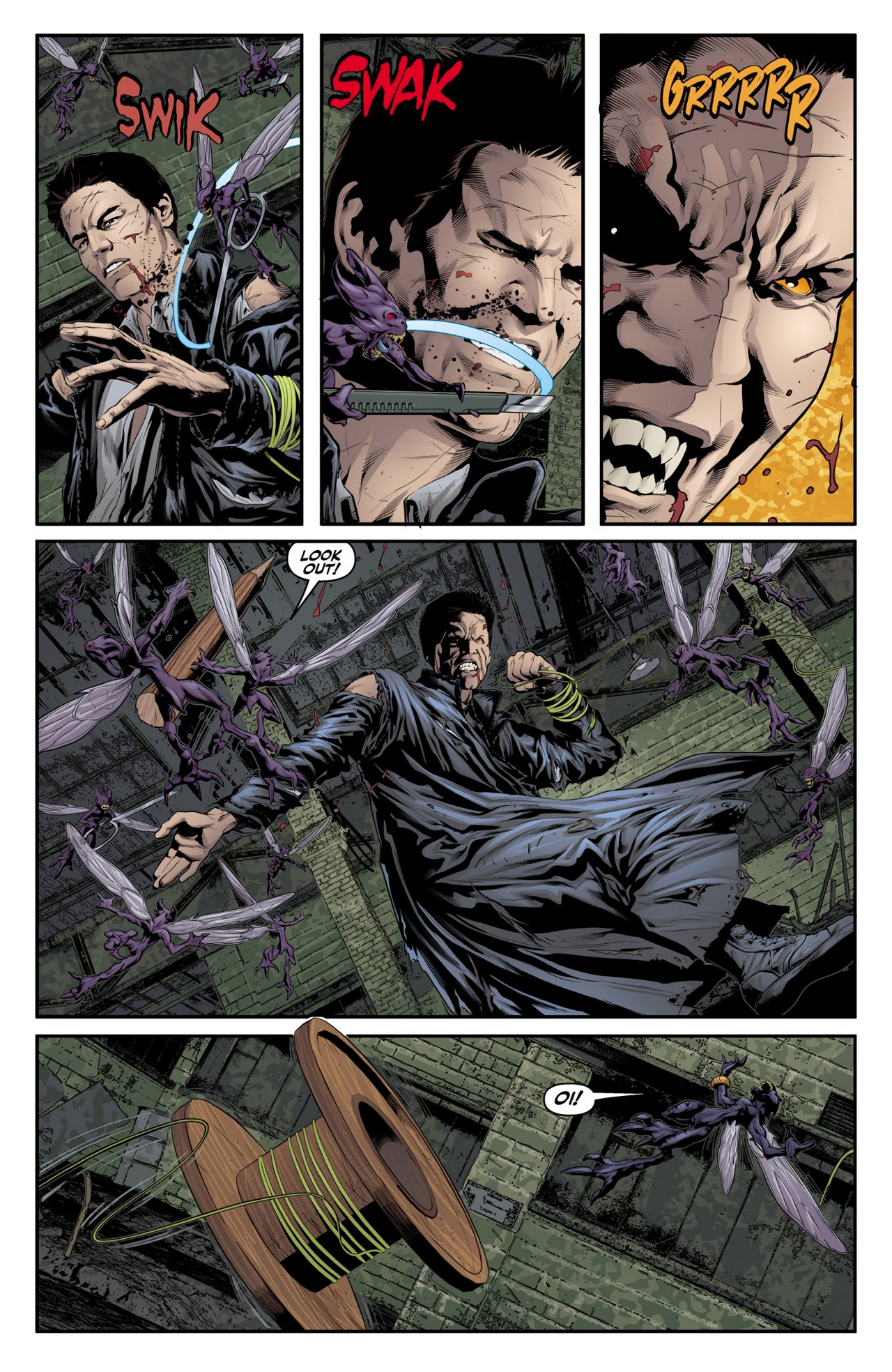 Read online Angel & Faith Season 10 comic -  Issue #4 - 14