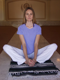 yoga phoenix butterfly pose to open the hips  release
