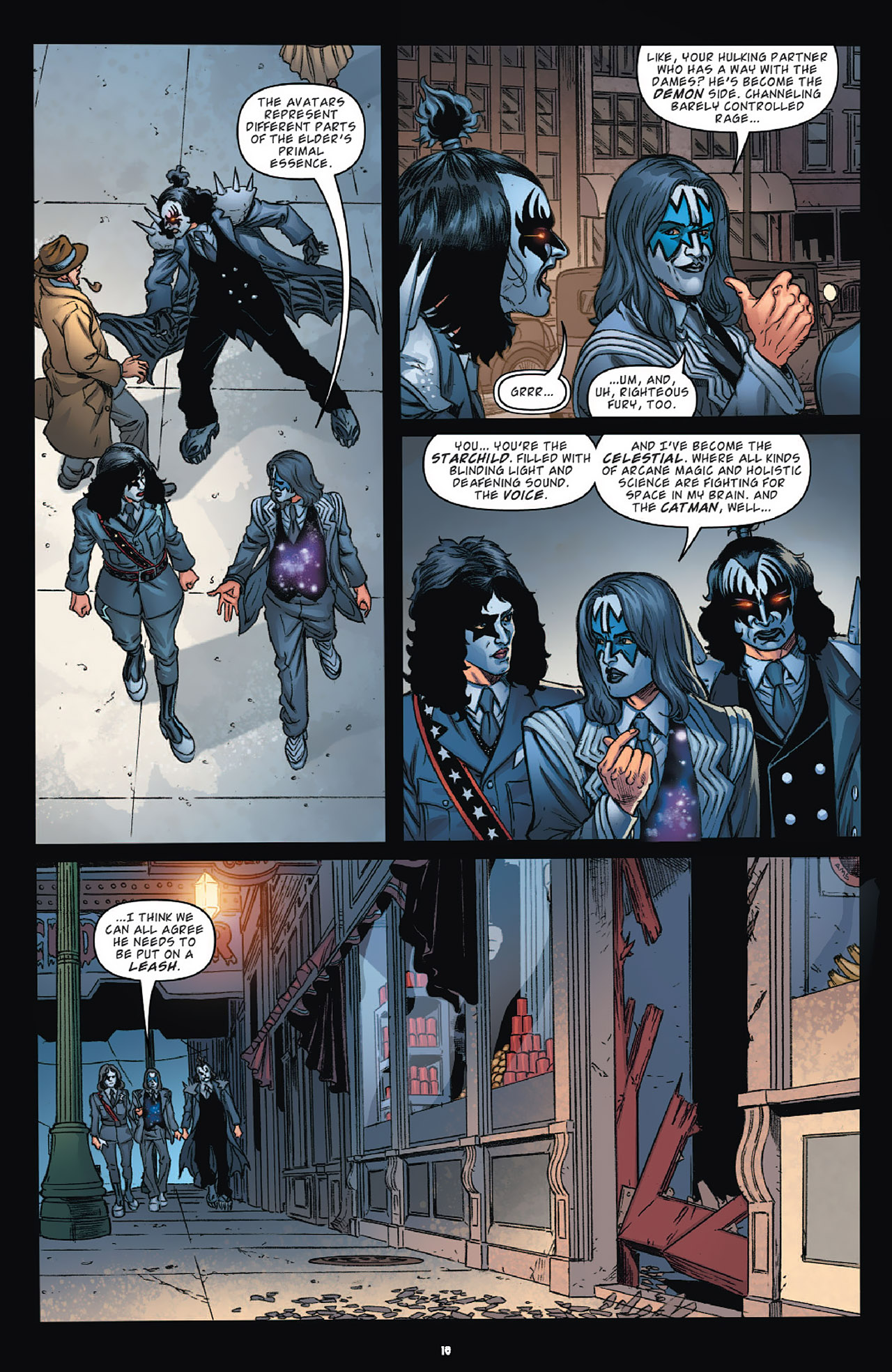 Read online KISS (2012) comic -  Issue #1 - 21