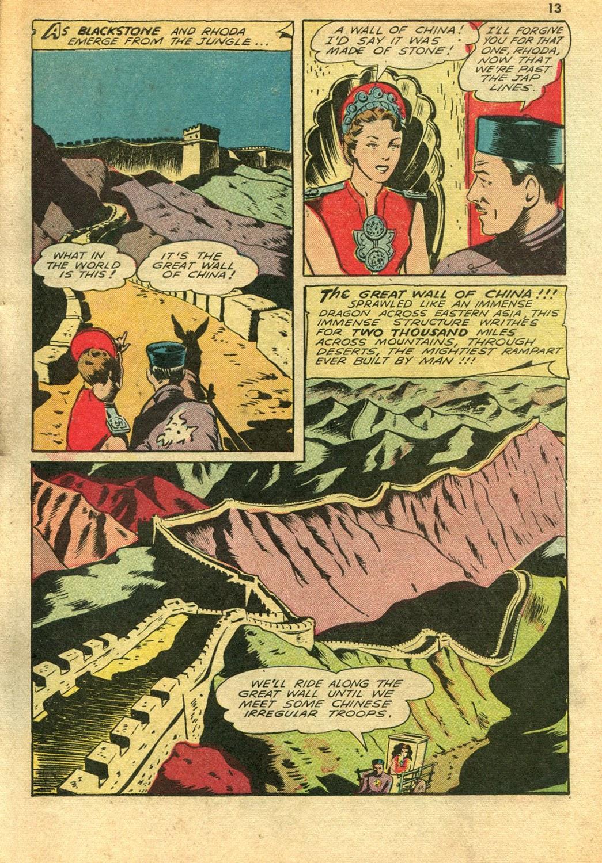 Read online Super-Magician Comics comic -  Issue #14 - 13