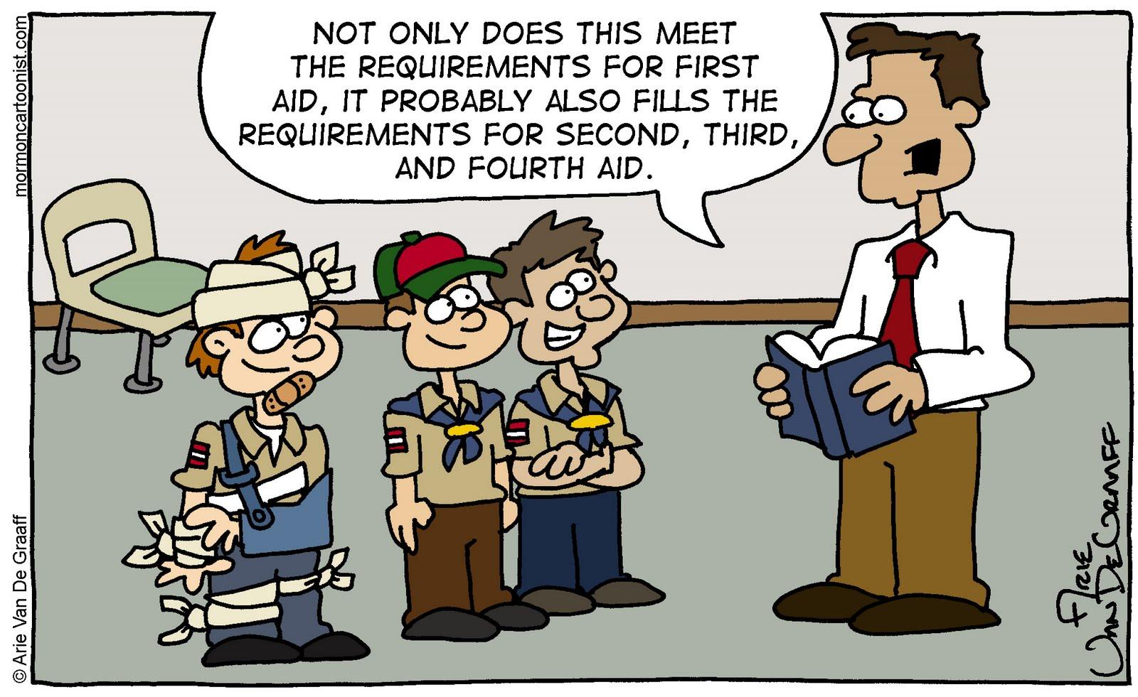 Ward Cartoonist June