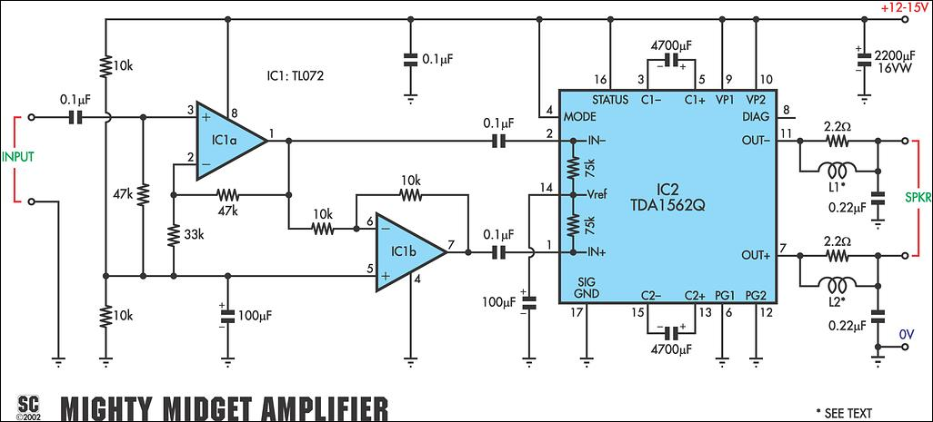 36 Watt Audio Power Amplifier Using Tda1562q