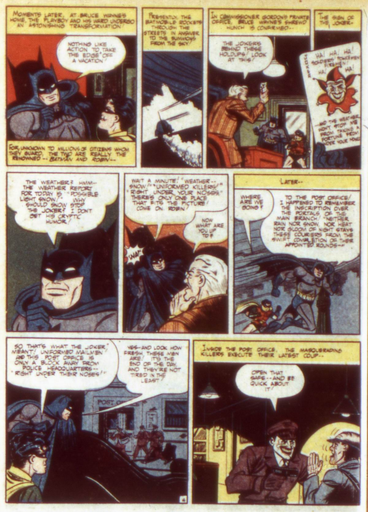 Read online Detective Comics (1937) comic -  Issue #60 - 6