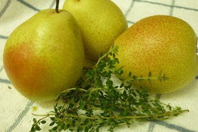 Kitchen Flavours Golden Pear And Thyme Cake