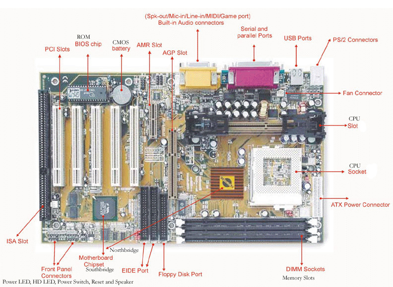 Everything About Computers  Mother Board