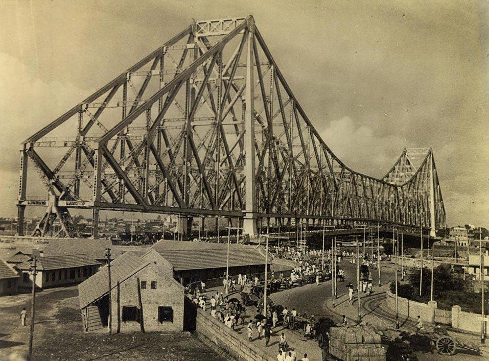 Calcutta Howrah Bridge