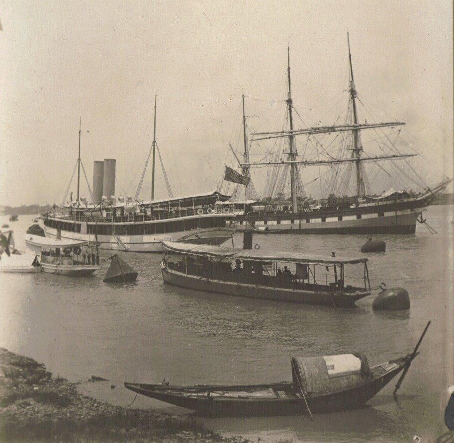 c.1903, Hooghly River, Port of Calcutta