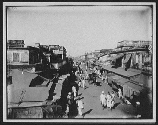 Madras (Chennai) 1895, by W.H. Jackson
