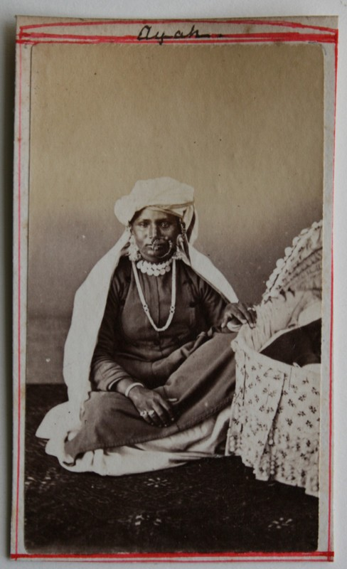 An Indian Ayah (a native maidservant) - 1880s