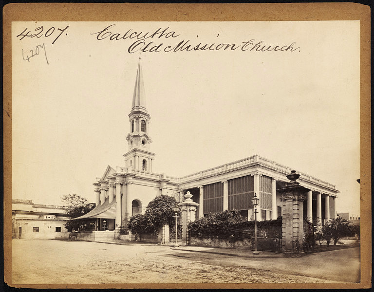 Old Mission Church Calcutta (Kolkata) - Mid 19th Century