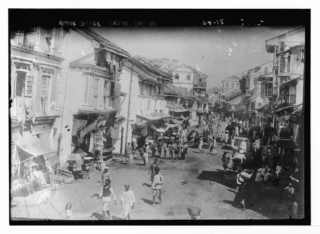 Native Street Scene - Mumbai (Bombay)
