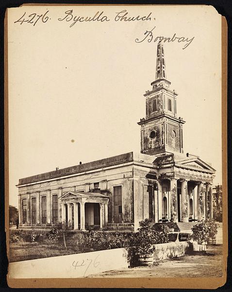 Byculla Church - Bombay (Mumbai) - 19th Century Photograph