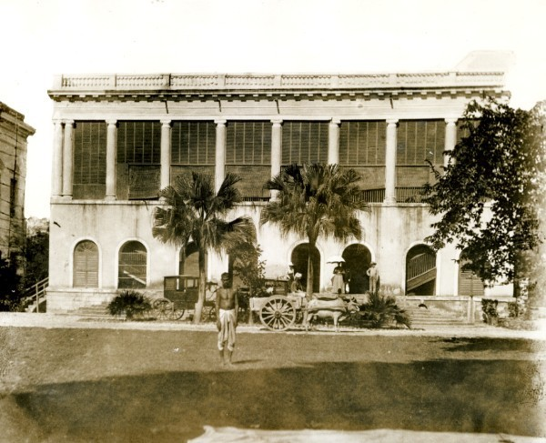 Official Bungalow - Assam India 1920's