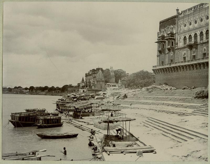 Ghats of Benares (Varanasi) - 1890's