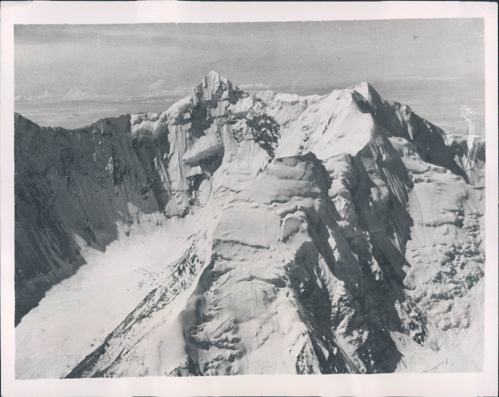 1936 Photograph of Nanda Devi - Second Highest Mountain in India