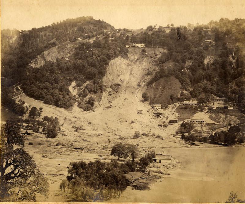 Nainital after landslide